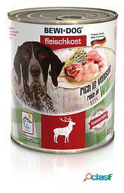 Bewi dog alimento humedo rico en venado 800 gr