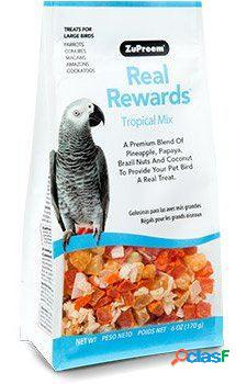 ZuPreem Snacks para Loros y Aves Grandes Tropical Mix 170 GR
