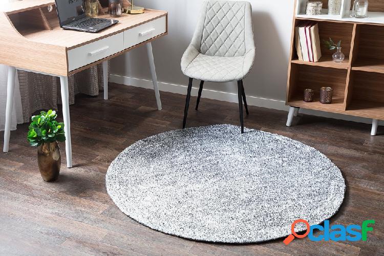 Tapete circular cinza ø140 cm DEMRE
