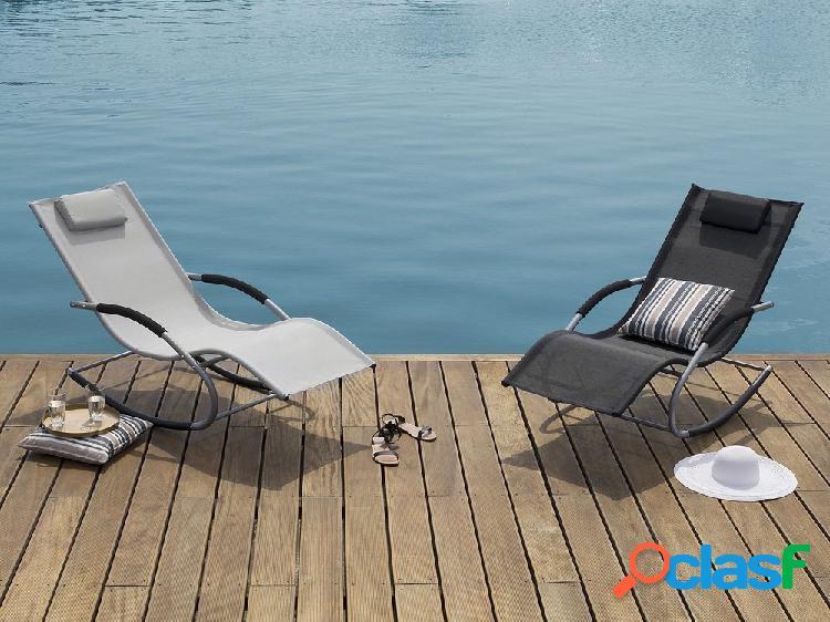 Cadeira de jardim – Balanço – Cinza – CARANO