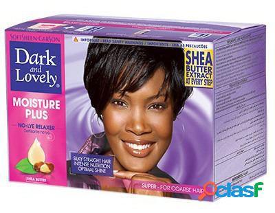 Dark & lovely umidade super relaxer smoothing kit dark & lovely