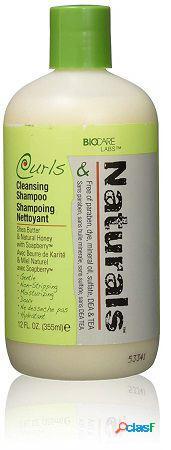 Biocare curls & nat cleansing champú 355 ml-12oz