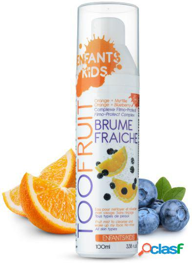 Toofruit Facial Cleansing Water of Orange and Blueberries 100 ml