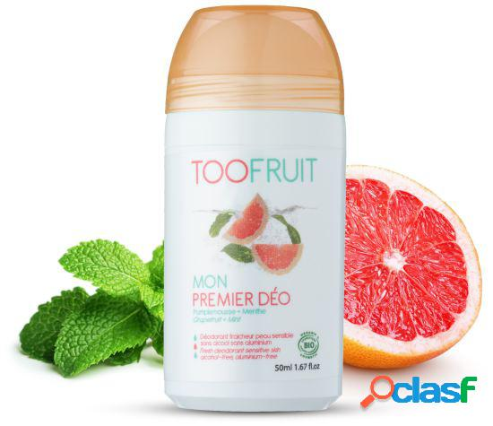 Toofruit Rollon Deodorant for Children of Grapefruit and Mint 50 ml