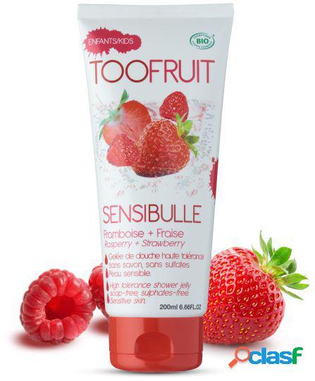 Toofruit Strawberry and Raspberry Shower Gel 200 ml