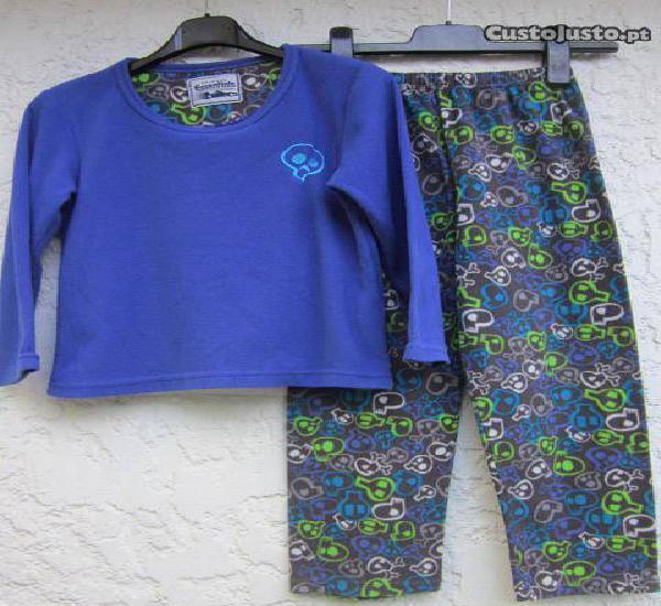 Pijama menino 7 a 8 anos