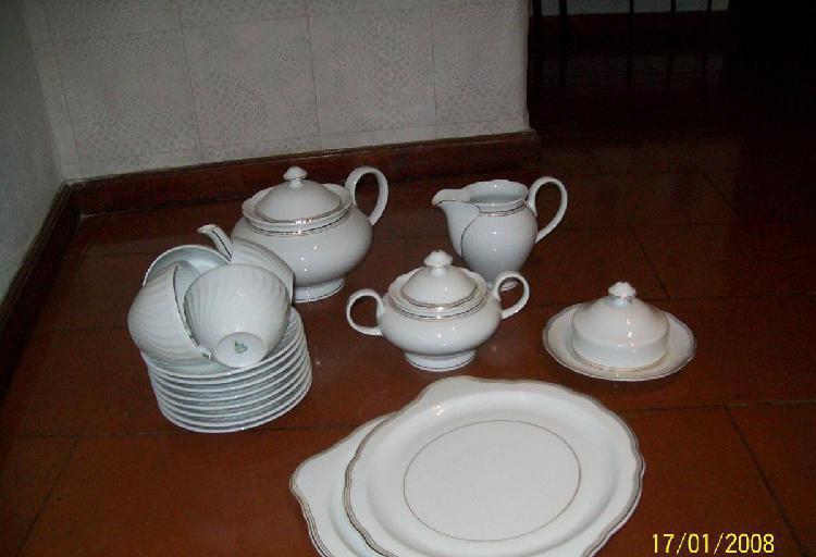 serviço de chá c/16 peças