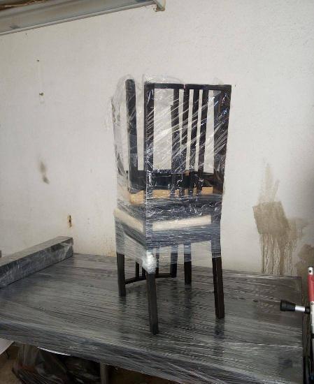 Mesa de sala wengue