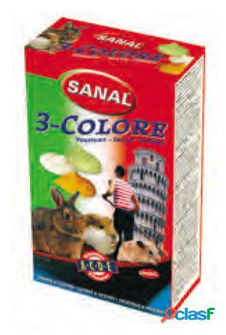 Sanal snacks roedores drops tricolor