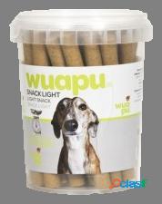 Wuapu petiscos light dog bars 300 gr 800 gr