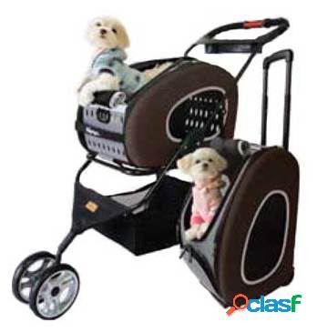 Axis-biozoo pet travel trolley rolando com carrinho de criança 300 gr