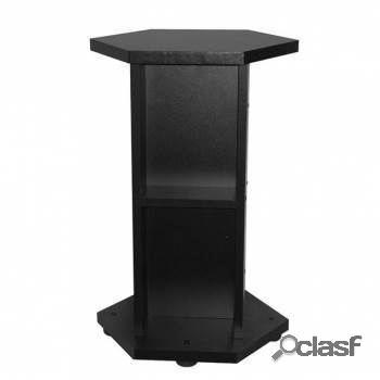 Aquael mesa acuario hexaset color negro 45 x 45 x 73 cm