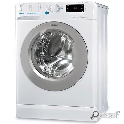 Indesit máquina lavar roupa bwe91484xwsss