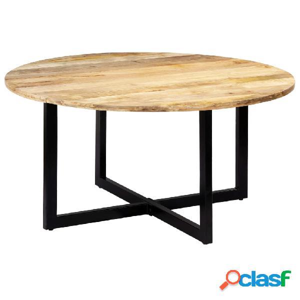 Vidaxl mesa de jantar 150x73 cm madeira de mangueira maciça