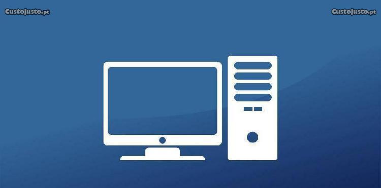 Serviços informáticos manutenção de pcs