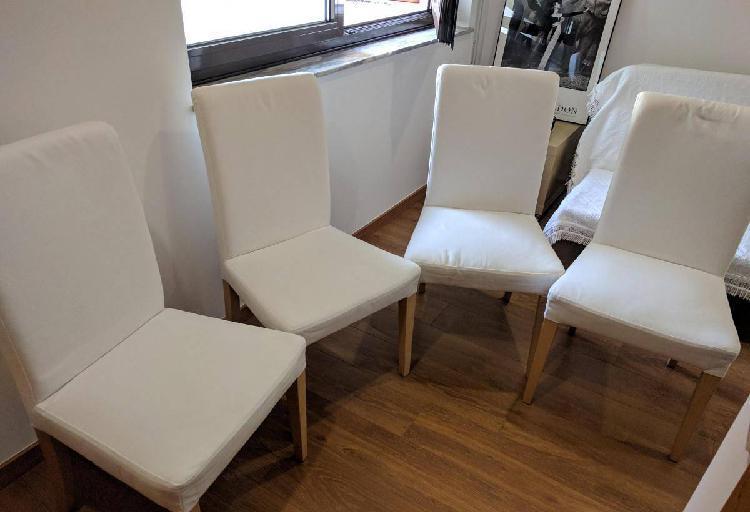 Cadeiras, modelo henriksdale ikea