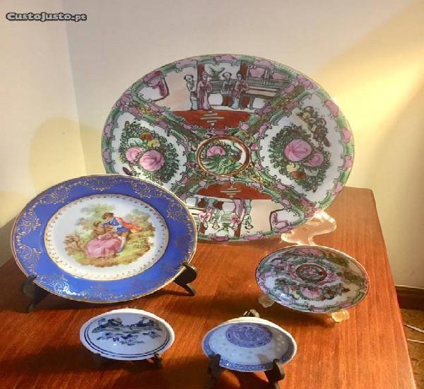 Pratos Cerâmica Decorativos