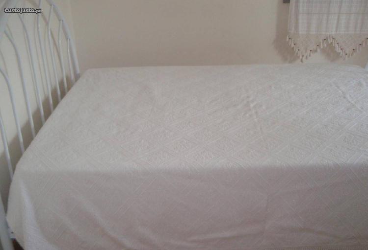 colcha algodão cama casal