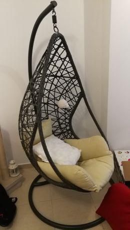 Cadeira baloiço ovo