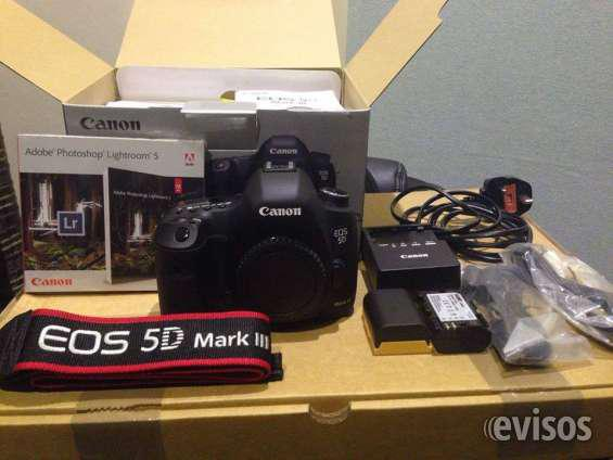 Canon eos 5d mark iii 21mp dslr camera.. em arões