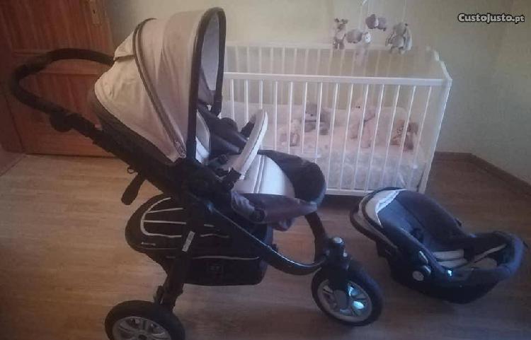Carrinho bebé e ovo (cadeira auto 0+) zy safe
