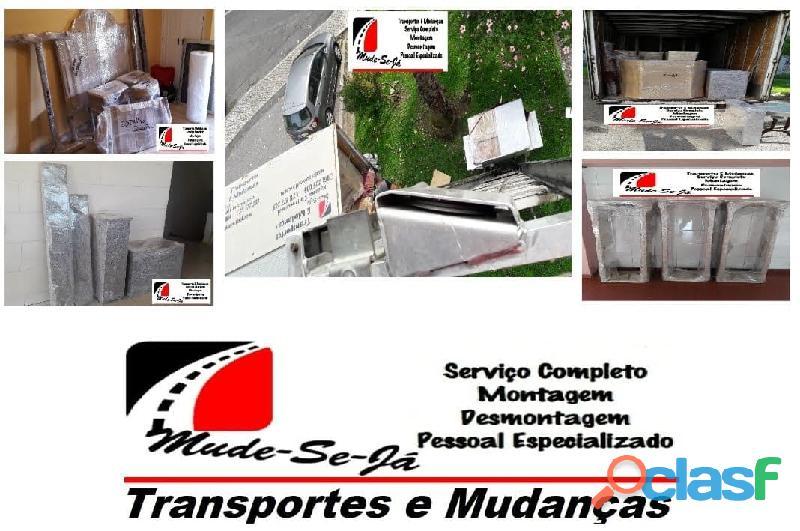 Mudanças de habitação / empresas / instalações