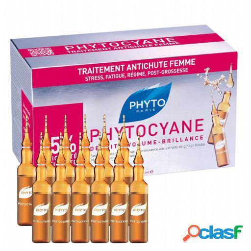 Phyto Phytocyane Tratamento de Perda de Cabelo Denso 12 Ampolas