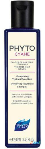 Phyto phytocyane shampoo tratamento densificante 250 ml