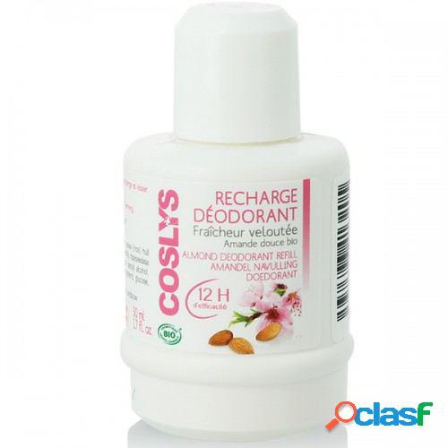 Coslys desodorante recarga de amêndoa novo 50 ml 50 ml