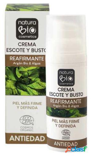NaturaBIO Cosmetics Crema Escote y Busto Reafirmante 50 ml