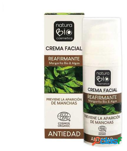 NaturaBIO Cosmetics Crema Facial Reafirmante 50 ml