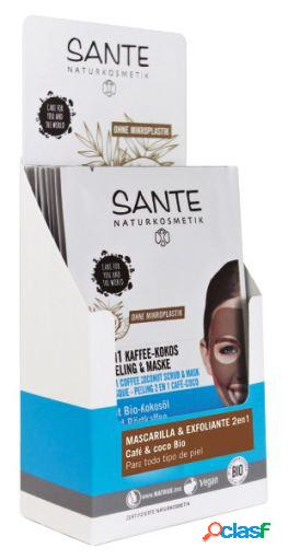 Sante Display Mascarilla & Exfoliante 2 en1 2x4ml