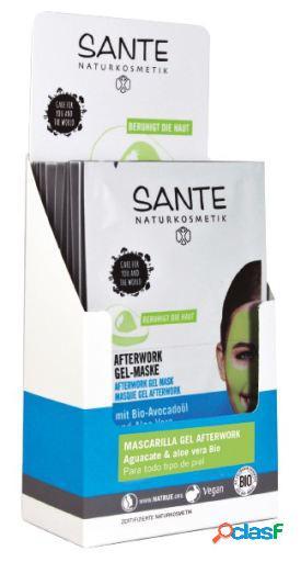 Sante Display Mascarilla Gel Afterwork 2x4ml