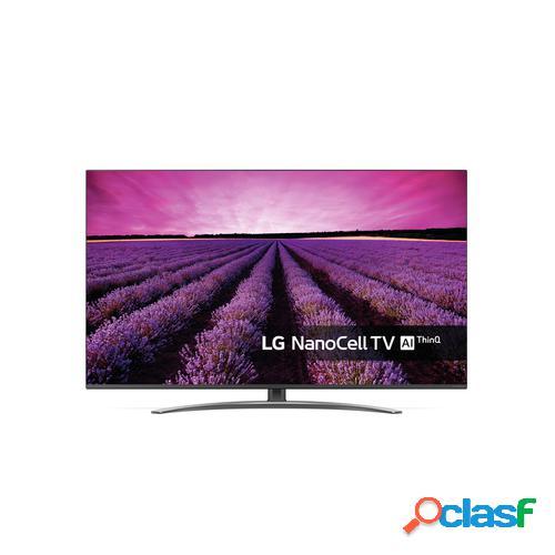 "LG SM8200PLA 124,5 cm (49"") 4K Ultra HD Smart TV Wi-Fi Preto, Prateado"