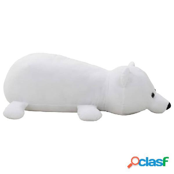 Vidaxl urso polar de peluche branco
