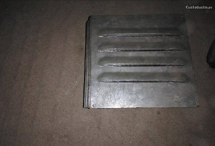 Grelha ventilação chapa galvanizada