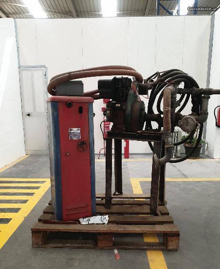 Máquina diesel