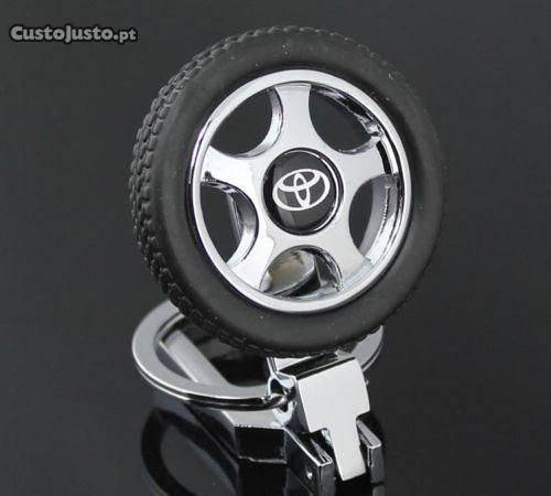 Porta chaves toyota - 3d - pneu