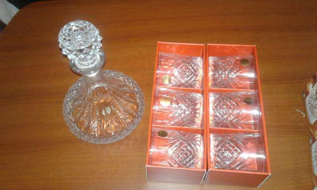Conjunto novo cristal d'arques