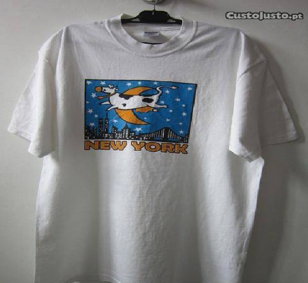 Camisola t-shirt xl nova iorque
