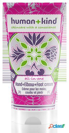 Human+kind hand + foot cream elbow + 50 ml