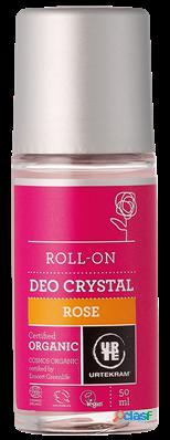 Urtekram deodorant roll on 50 ml bio rosa 50 ml