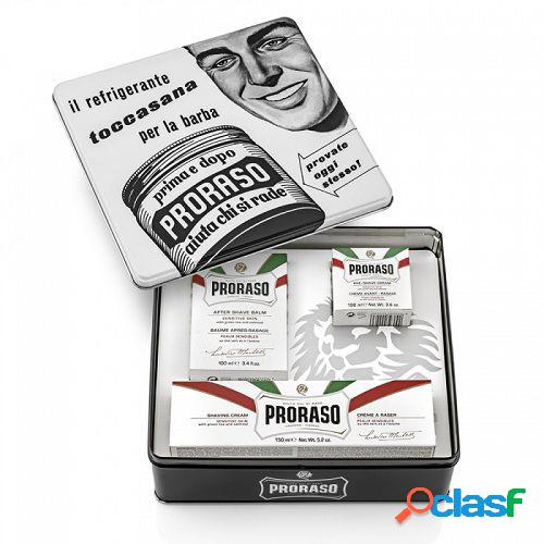 Proraso vintage case toccasana selection white line