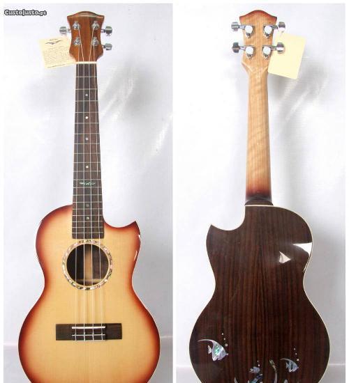 Ukulele tenor luthier luxo - novo