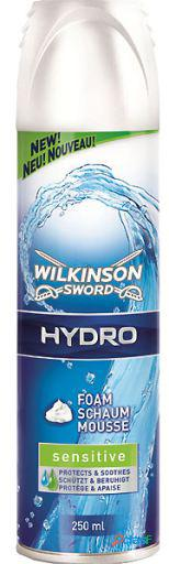 Wilkinson espuma de barbear hydro sensitive 250 ml