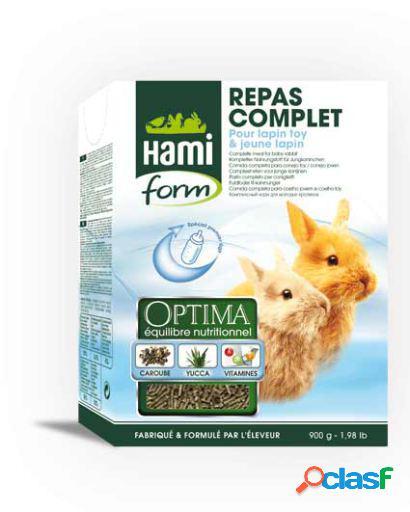 Hami form alimento completo para coelhos jovens / você 1 kg