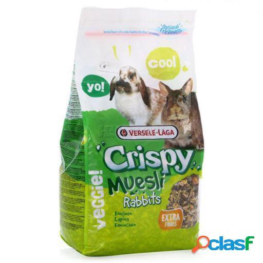 Versele Laga Crispy Muesli Rabbits Alimento para Coelhos 1 Kg