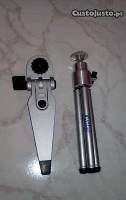 Mini tripé máquina fotográfica