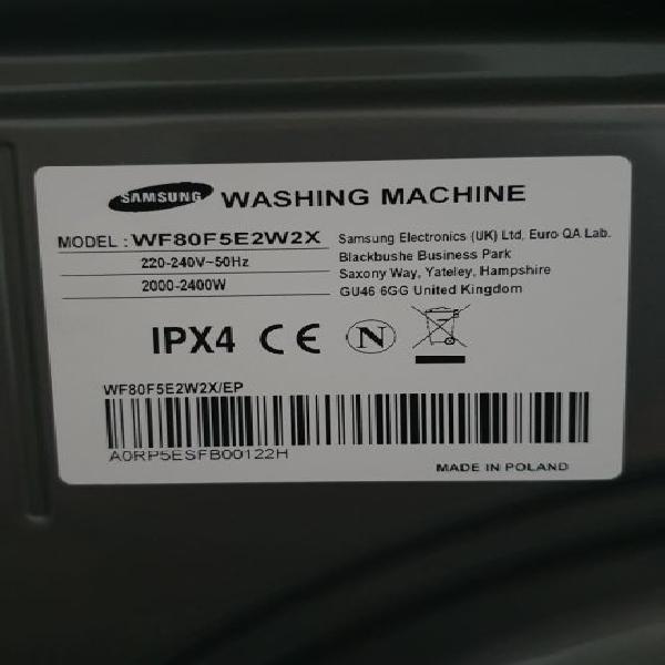 Máquina lavar roupa