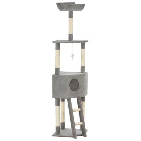 Vidaxl árvore para gatos c/ postes arranhadores sisal 180